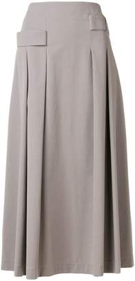Lorena Antoniazzi pleated midi skirt