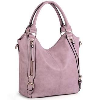 UTO Women Handbags Hobo Shoulder Bags Tote PU Leather Handbags Fashion  Large Capacity Bags 0b5b201e9849f