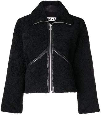 Aalto shearling zip-up jacket