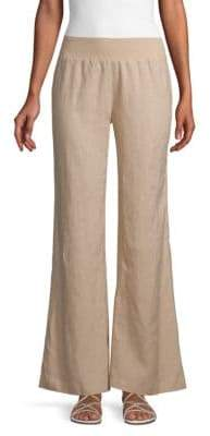 Calvin Klein Stretch Wide-Leg Pants