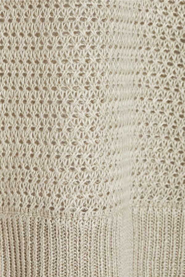 Joie Ronni open-knit linen sweater