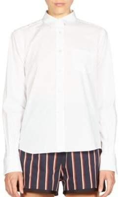 Sacai Lace-Back Shirt