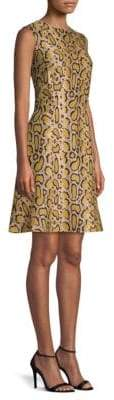 Etro Python Print Fiare Dress