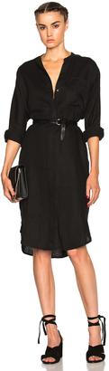 James Perse Dolman Shirt Dress $225 thestylecure.com