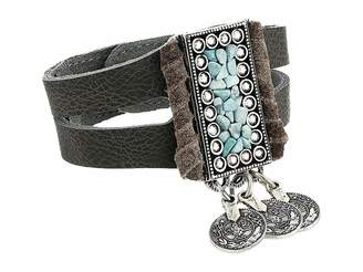 Leather Rock Sarai Bracelet