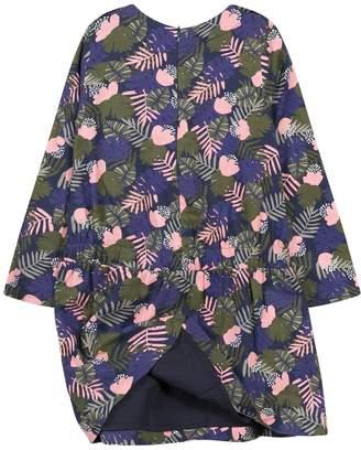 Jean Bourget Floral Crewneck Dress