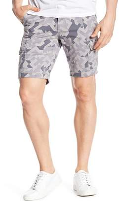 NOIZE Casual Geo Print Cargo Shorts
