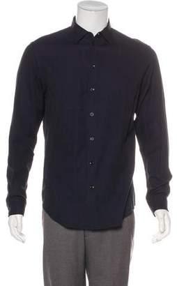 Armani Collezioni Woven Button-Up Shirt w/ Tags
