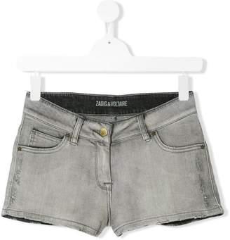 Zadig & Voltaire Kids casual denim shorts