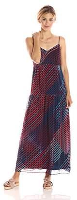 Paris Sunday Women's Spaghetti Strap Maxi A-line Dress