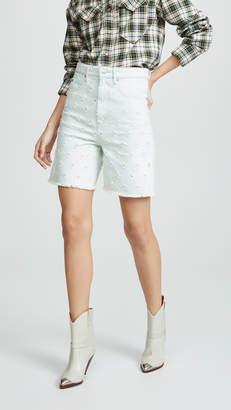 Etoile Isabel Marant Liny Denim Shorts