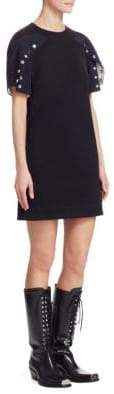 Calvin Klein Cotton Snap Dress