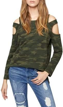 Sanctuary Park Slope Cold Shoulder Sweatshirt