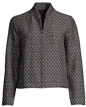 Eileen Fisher Women's Flight Jacquard Jacket