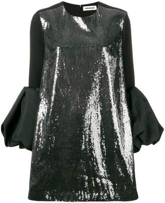 Brognano sequins embellished shift dress