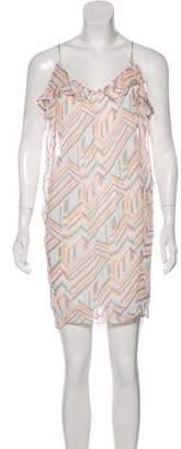 Rebecca Minkoff Sleeveless Chiffon Mini Dress