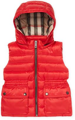 Burberry Hooded Puffer Vest