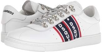 DSQUARED2 Logo Taping Tennis Sneaker Men's Shoes
