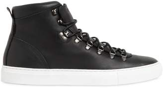 Diemme Marostica Nappa Leather Mid Top Sneakers