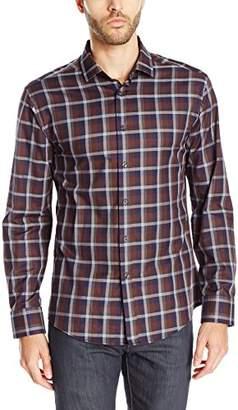 Vince Camuto Men's Long Sleeve Spread Collar Shirt