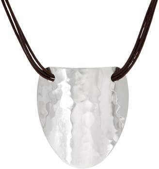 Robert Lee Morris Rlm Jewelry By RLM Statement Multi-Strand Leather Necklace