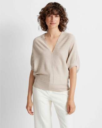 Club Monaco Dolman Sleeve V-neck Sweater
