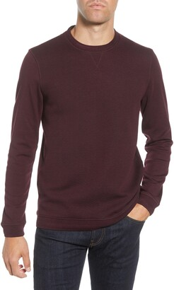 Ted Baker Tricks Slim Fit Quilted Jersey Sweatshirt