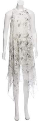 Elizabeth and James Silk Tiered Dress