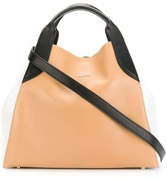 Lanvin colour block tote