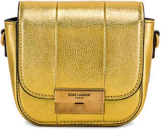 Saint Laurent Mini Betty Satchel Bag in Gold | FWRD