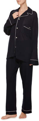 The Elder Statesman M'Onogrammable Favorite Embroidered Pajama Set