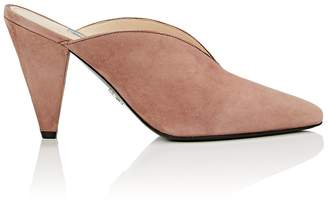 Prada Women's Suede Mules