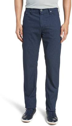 AG Jeans Everett SUD Print Slim Straight Leg Pants