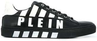 Philipp Plein logo printed low-top sneakers