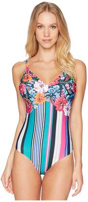 Mary Katrantzou Maillot One-Piece Swimsuit Women's Swimsuits One Piece