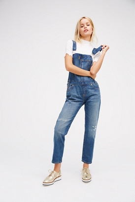 Levi's Womens LEVI HERITAGE OVERALL $128 thestylecure.com