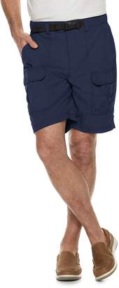 Croft & Barrow Men's Classic-Fit Outdoor Belted Ripstop Cargo Shorts