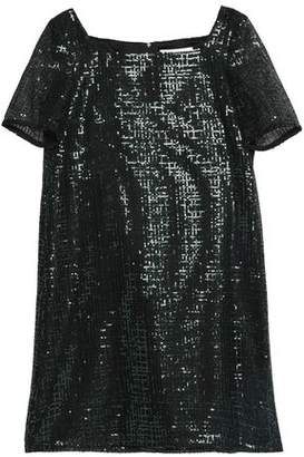 Goat Sequined Woven Mini Dress