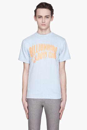 Billionaire Boys Club Baby blue and orange Classic Arch T-shirt