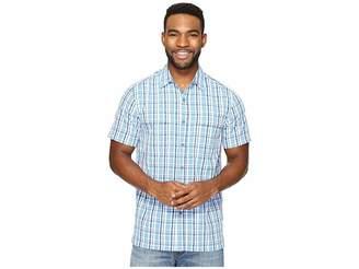 Royal Robbins Diablo Plaid Short Sleeve Men's Short Sleeve Button Up