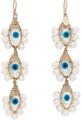 Beck Jewels Womens Evil Eye Lolita Trio Earrings EESxi1I01l