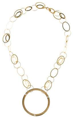 Lana 14K Circle Link Necklace