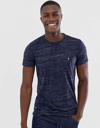 Solid SlubT-Shirt With Pocket
