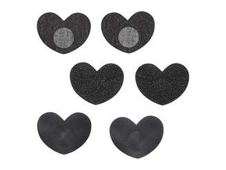 Magic Body Fashion MAGIC Bodyfashion Heart Covers 3-Pack