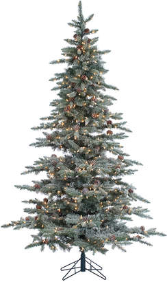 Sterling Tree Company 7.5Ft Lightly Flocked Mckinley Pine