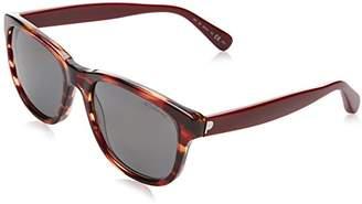 Polaroid Women's PLP-302-CDX-6N Sunglasses,55