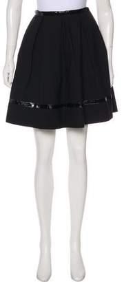Tamara Mellon Mini Pleated Skirt