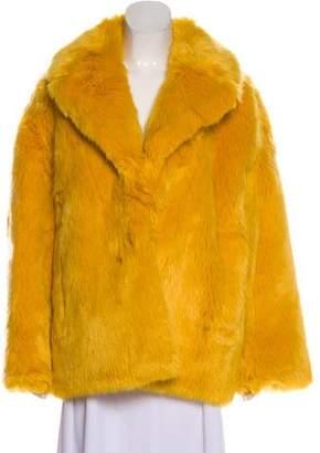 Diane von Furstenberg 2017 Faux Fur Coat