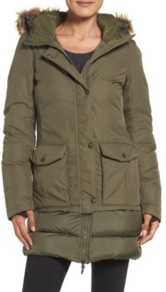 Women's The North Face Tuvu Water Repellent Parka With Faux Fur Trim $279 thestylecure.com