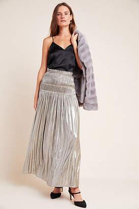 Current Air Zadie Metallic Maxi Skirt
